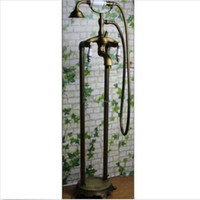 antique clawfoot tub faucets - And Retail Luxury Ceramic Style Antique Brass Bathroom Tub Faucet Clawfoot Tub Filler Tap