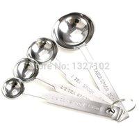 Wholesale Household Stainless steel Measuring Spoons Tea Coffee Cooking Baking Measure Spoons MTY3