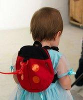 child harness - Baby harness kids keeper Cartoon Backpacks Animal Daysack Ladybug for Children Strap Bag Anti lost Walking Wings