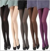 Wholesale Women Sexy D Thickness Velvet Add Crotch Pantyhose Stocking Tights Color