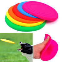 Wholesale cm Dog Cat Frisbee Flying Disc Tooth Resistant Outdoor Large Dog Training Fetch Toy A1