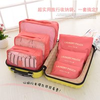 the packaging of shoes - TaoBao The explosion travel accept package Six paper set waterproof clothing and other articles of daily use Arrangement bag thickening fin