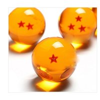 animation bubbles - Japanese Animation Dragon Ball Stars Crystal Ball Set of Natural Resin Bubble Shape Yellow Balloons Childrens Toy