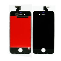 Wholesale 50pcs For iPhone G S LCD Display Touch Screen Digitizer Assembly Repair Replacement Black White