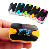 Wholesale 10PCS Health care Anti scratch screen Alarm setting OLED finger pulse oximeter spo2 pr blood oxygen monitor display direction mode