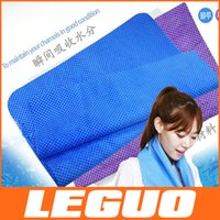 Wholesale Ice towel cm multifunctional cooling summer ice towels Cool scarf Ice belt