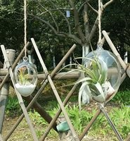 garden pot holder - 2pcs set glass egg planters succulent moss garden terrarium indoor plant holder for garden decoration home decor