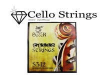 Wholesale Muse pack Spock S312 Cupronickel Alloy Cello Strings Set Exquisite Stringed Musical Instrument Parts Accessories