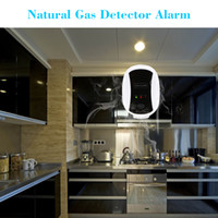 Wholesale CE High Sensitive Combustible Natural Gas Leakage Alarm Detector Sensor for Home Security S497