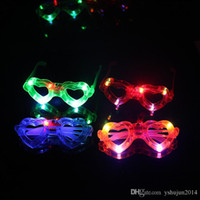 big lollipops - Hot Sale LED Glowing concert cheer Halloween props lollipop glasses toys Led Rave Toy Christmas gifts