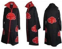 akatsuki clothes - Cos Cosplay naruto Akatsuki Orochimaru uchiha madara Sasuke itachi Pein Clothes Costume cloak cape wind Dust Coat