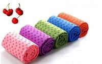 Flat yoga mat - 2015 Health Care Skidless Yoga Towel Yoga Mat Non slip Yoga Mats for Fitness Yoga Blanket Multi Color