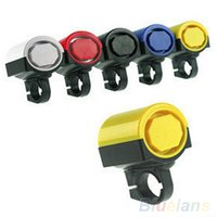 Wholesale Rotating Electronic Loud Bike Horn Cycling Handlebar Alarm Ring Bicycle Bell K4L