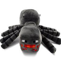 Wholesale Minecraft Plush Toy LARGE Spider Stuffed Plush Toys Dolls CM Inches Big Spider Game Cartoon Enderdragon Enderman creeper Mooshroom EMS