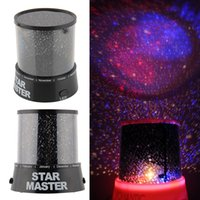 Gros-New Hot Romantic Magic 4 LED Sky Étoile Starry Sky projecteur Night Light Lamp Nursery Accueil Display Chambre
