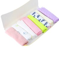 Wholesale Hot Baby Kids Stuff Soft Children Infant Bath Towel Cotton Washcloth Wipe