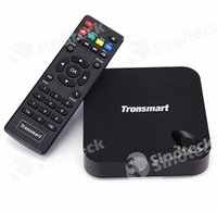 Wholesale Tronsmart MXIII Plus Quad Core Amlogic S812 Mali Android TV Box K HD XBMC GB RAM GB ROM Wifi G Media Player Free DHL