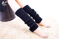 bamboo pile - Calentadores Piernas Knitting Factory Outlet Leg Sets To Oem Bamboo shaped Piles Of Socks Sock Autumn And Winter Warm Gloves