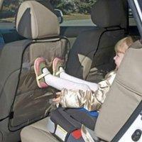 Car Auto Asiento Respaldo la cubierta del protector para los niños del retroceso de la estera del fango de seguridad limpios Nueva 0-6 bebé de los años portable de la seguridad del coche