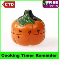 Wholesale Pumpkin Shape minutes Twist KitchenTimer Kitchen Cooking Mechanical Timer Cooking Alarm Clock