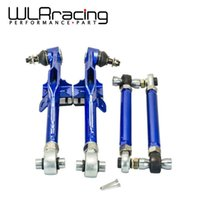 Wholesale WLR STORE Racing S14 Adj Front Lower Control Arm Blue Only Pair For Nissan WLR9832