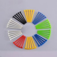 Wholesale Random Color Golf Accessories Golf Tees Professional Tee System Length mm Plastic Pro