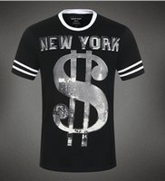 clothing new york - New Arrivals Fashion top short sleeve clothing men s t shirt quot New York quot brand man T Shirts round neck tee men or boy PP225