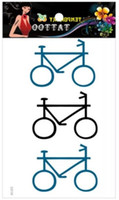 bicycle temporary tattoos - Sex Products Temporary Tattoo Tatoo For man Weman Waterproof Stickers makeup maquiagem make up Bike bicycle tattoo WM162