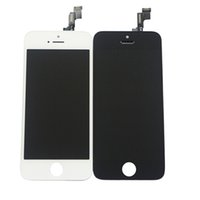 Wholesale A grade Quality iphone LCD Black and white Glass Touch Screen Digitizer LCD Assembly Replacement For iPhone C S G DHL Free C