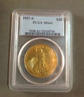 Wholesale HOT SELLING PCGS S Saint Gaudens GOLD MS61 FOR COLLECTION ONLY