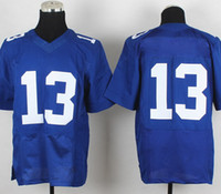 Football wholesale football jersey - Cheap American Football Jerseys Men s Royal Blue Team Elite Stitched Rugby Jersey Uniform Size Accept Mix Order