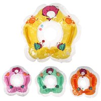 baby earrings infant - New Baby toys Baby Aids Infant Swimming Neck Float Inflatable Safety Tube Ring Brand Cute Gifts
