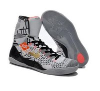 Wholesale With Box kobe KB IX Elite High Influence Volt Orange Men Basketball Sport Sneakers Trainers Shoes