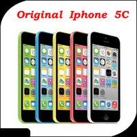 Wholesale Original Apple iPhone c refurbished iphone c cellphones Unlocked Mobile Phone IOS quot IPS Dual Core ALSO HAVE IPHONE S