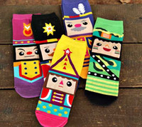 Wholesale 2015 New styles Nutcracker lady socks US US cute cartoon colorful socks Top quality fashion Cotton Women socks Nutcracker socks