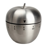 apple kitchen timer - Cute Mini Apple Mechanical New Kitchen Cooking Timer Alarm Minutes Stainless Steel Digital Timer Alarm