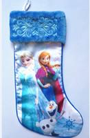 christmas gift - Frozen Christmas Stockings Xmas Cartoon Socks Pricess Elsa Anna Socks cm Gift Socks
