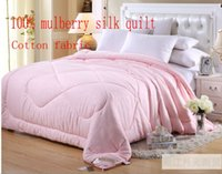 Wholesale Silk silk air is cool in the summer is winter spring and autumn double sheets are combined cotton quilt core