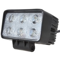 Wholesale LM x W High power LED Work Light Flood Beam Spot Beam Offroad Rectangle Driving Fog Lamp Truck