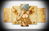 art deco posters - 5443 Naruto Poster print on Canvas framed stretched home decor art wall deco HOT gallery wrap home wall decor handmade print