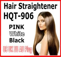 Wholesale 2016 hot FAST Hair Straightener brush hair Irons Styling Tool Flat Iron Electronic Temperature Controls with US AU EU UK pink white black