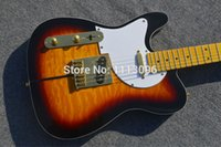 guitars - wholsale NEW left hand guitar TL guitarra clear yellow color oem left hand electric guitar guitar in china