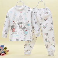 Wholesale Le Hai Tong Jia winter new children s clothing children s underwear sets cotton infant clothing manufacturers