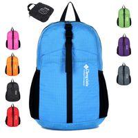 backpack custom design - New Design Custom Skin Students School Backpack Super Light Folding Nylon Shoulder Bag Outdoor Sports Backpack