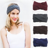 Wholesale New style Hand made Knitted Headband Ear Warmer Fashion Accessory Gifts For Her Women s Fashion Hair Accessories colors