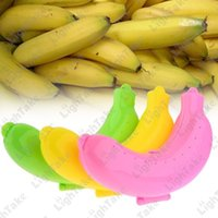 Cheap 3 Pcs set Banana Protector Case Container, Food Lunch Fruit Banana Box Storage Holder For Trip Camping Outdoor Free Shipping