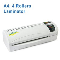 Wholesale DSB Hot and Cold Laminator SoGood s A4 Rollers System mic mic Minutes Warm up Office School Home Supplies