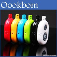 Wholesale Bluetooth Remote Camera Control Self timer Shutter for iPhone Plus S C S for Galaxy S5 S4 Note3 Note4 Smartphones and Tablet