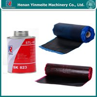 cement belt conveyors - Hot vulcanizing adhesive for conveyor belt splicing