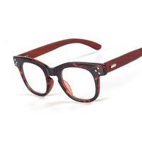 Wholesale 2016 Fashion Designer Brand Wooden Glasses Frame For Women Vintage Men Handmade Wood Eyewear For Reading Optical oculos de q489